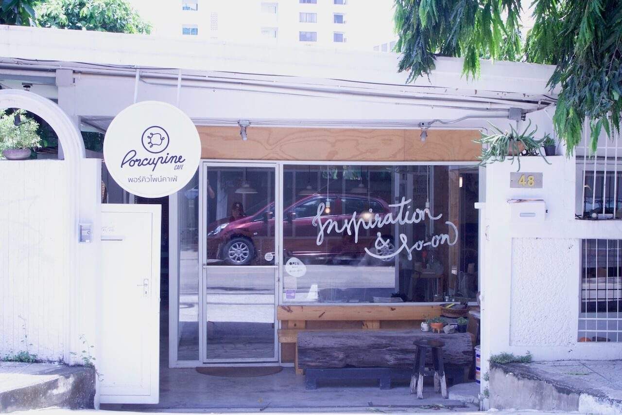 porcupine cafe aree bangkok