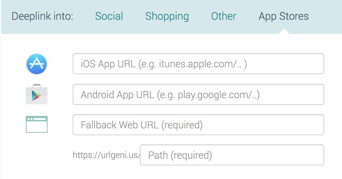 URL GENIUS アプリ ディープリンク