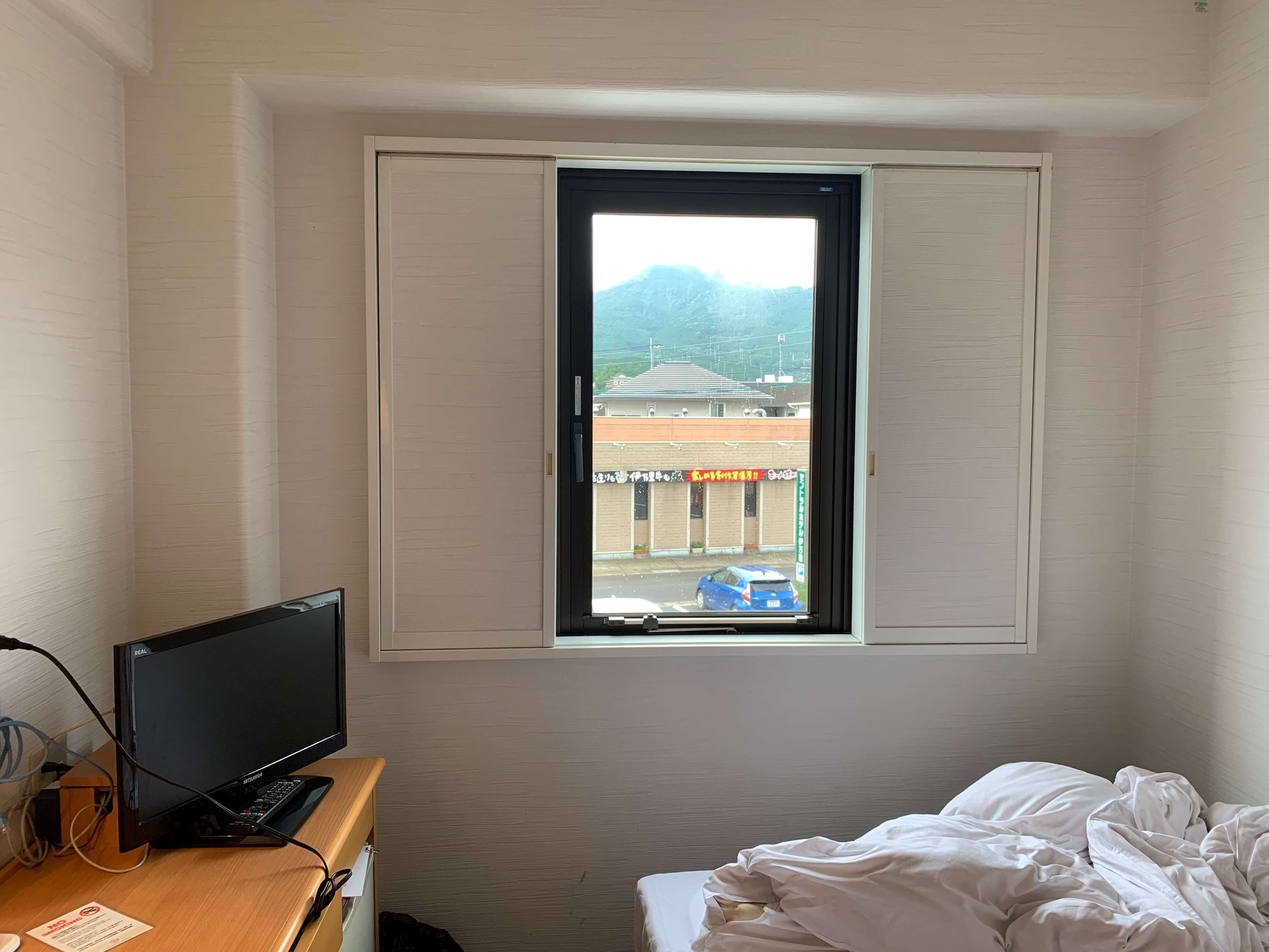 伊万里自動車学校・免許合宿プランの部屋の全体像【セントラルホテル伊万里】