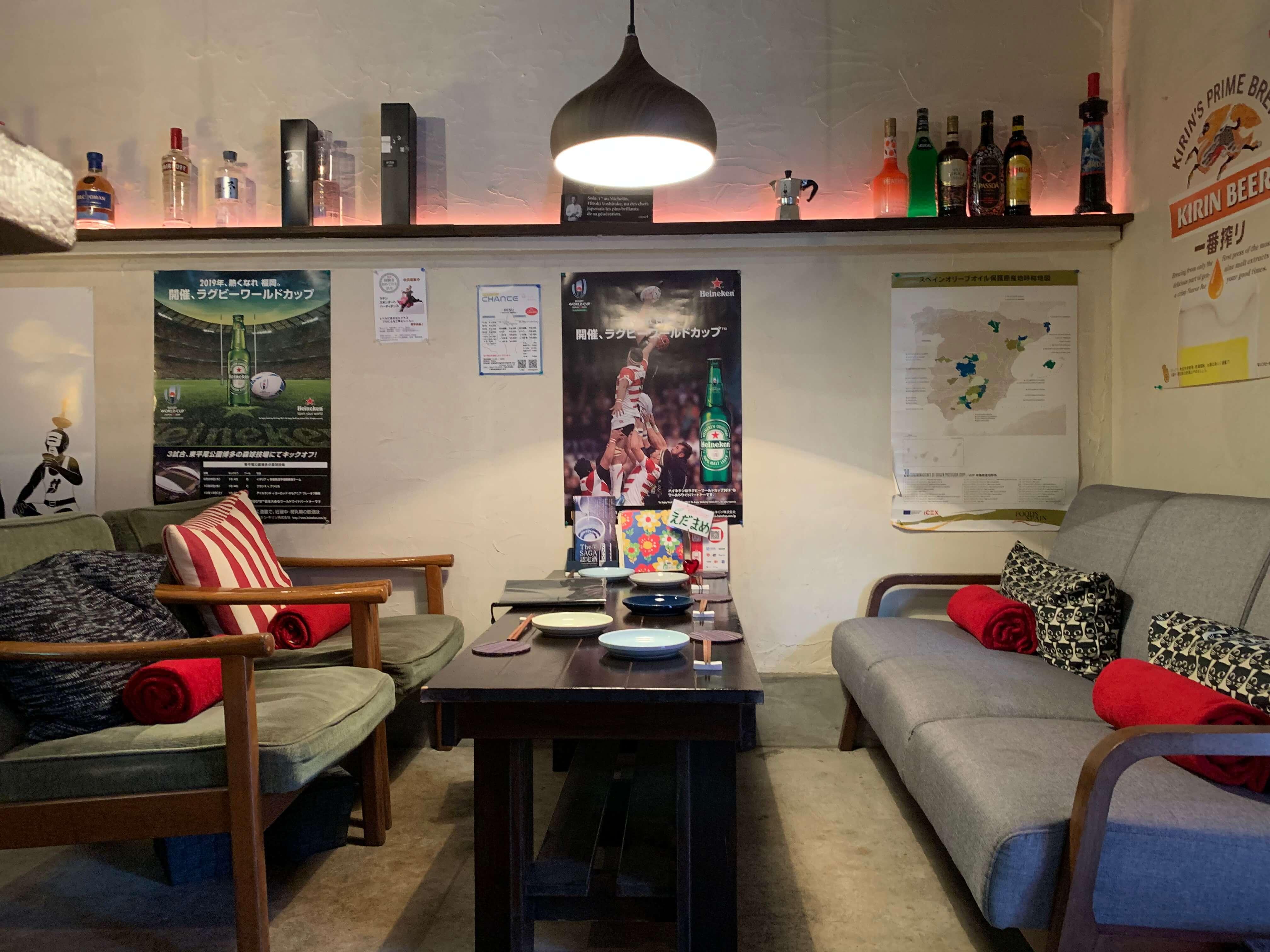 佐賀県伊万里市にあるおすすめな居酒屋【Ginとお万菜と私 小鉄】入り口