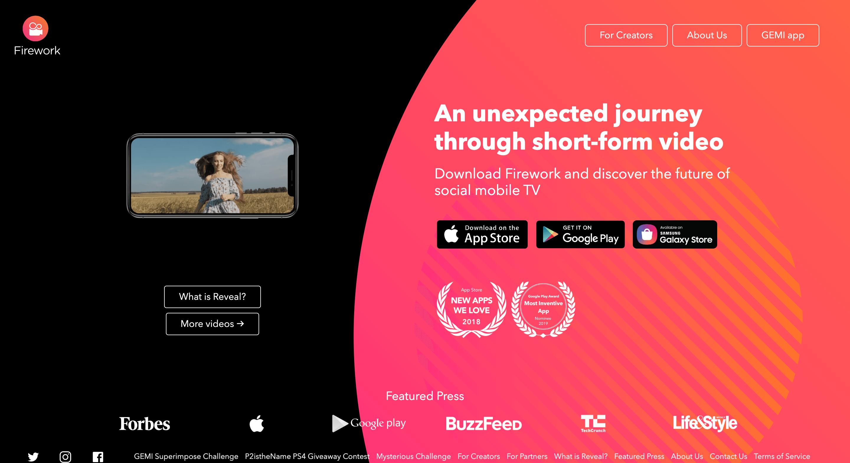 【海外で話題のFireworkとは】TikTokの動画クリエイター向け版SNS