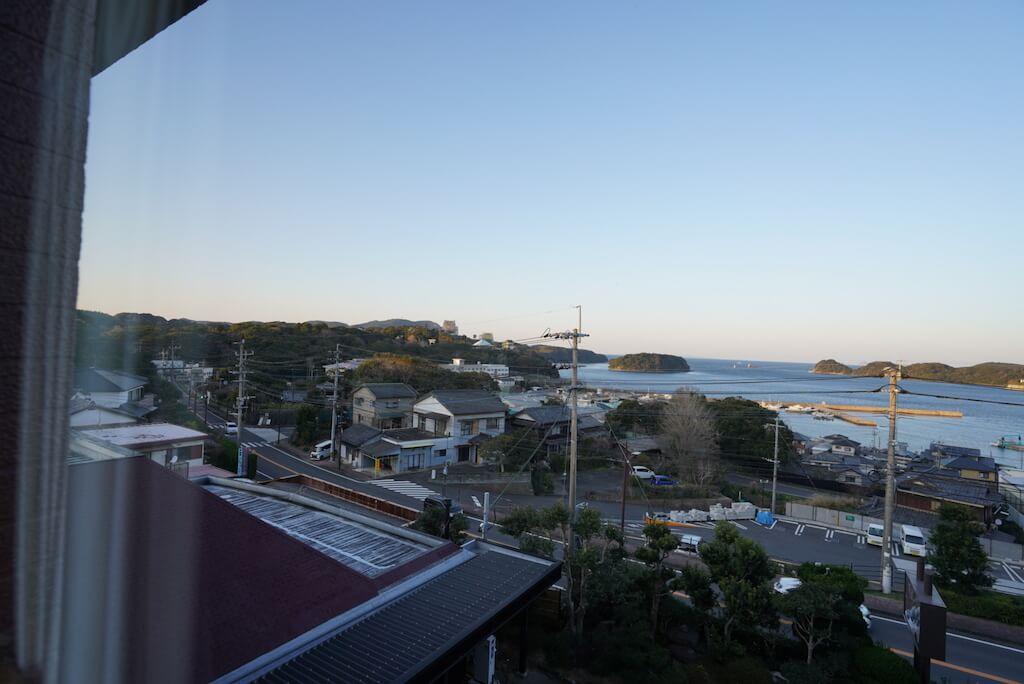 DSC0196平戸 おすすめホテル ホテル彩陽 眺め