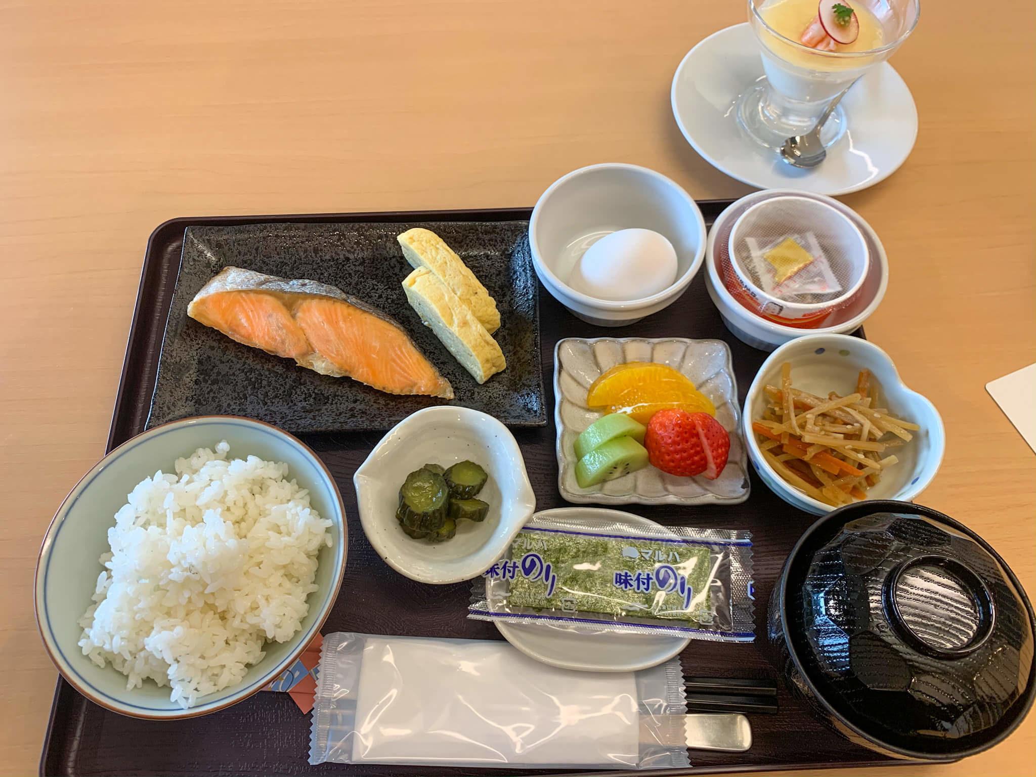 hotel win 朝食